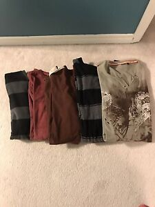 Size large men's clothes.