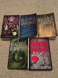 The caster chronicles  book series