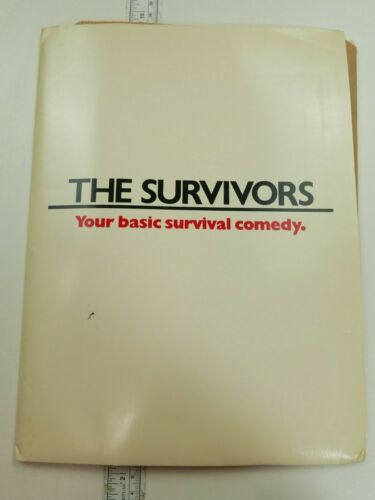 THE SURVIVORS 1983 PRESS KIT & 6 B/W STILLS Walter Matthau - Robin Williams