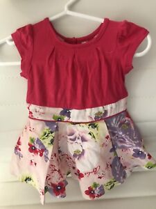 b28e1d750 As NEW TED BAKER GIRLS DRESS SIZE 2 Flower floral print party Myer ...