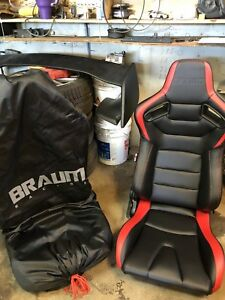 Braum racing seats (pair)