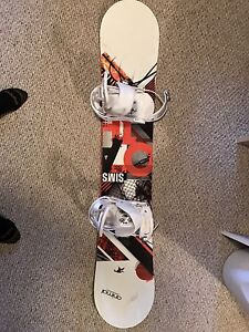 Sims Oath 151 cm with burton freestyle bindings