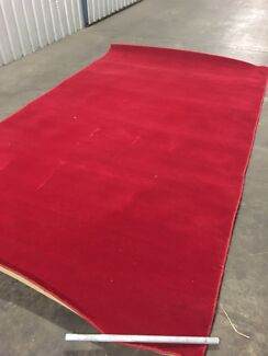 Extra Large Red Wool Floor Rug