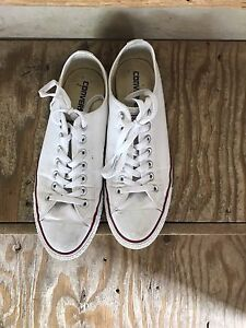 White converse for males or females