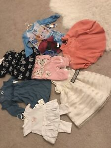 Baby girl clothes from 3 months to 5 T