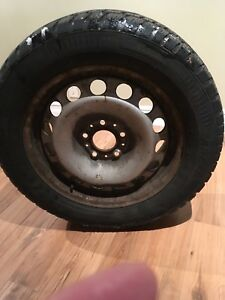 Arctic Claw Winter Tires on Rims 235/55/R17