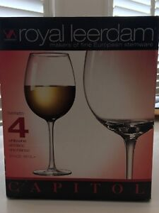 New - 4 x white wine oversized glasses  Belconnen Belconnen Area Preview