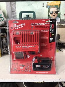 Milwaukee M18 5.0 and charger