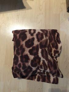 JYSK Leopard print duvet cover Queen