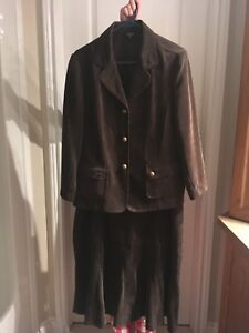 Lindor corduroy jacket and skirt