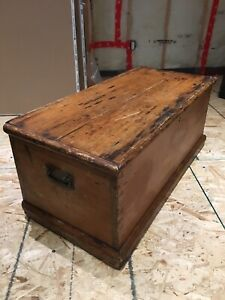 Antique Blanket Box Coffee Table Man Cave