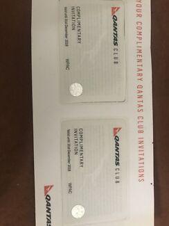2 x Qantas lounge pass - expiry Dec 18