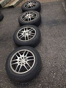 15 inch rims with tires