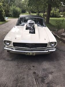 1966 Mustang blower mother