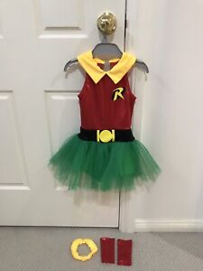 Girls Robin Leotard Costume Size 6 Bella Vista The Hills District Preview