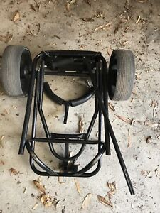 Golf cart with seat
