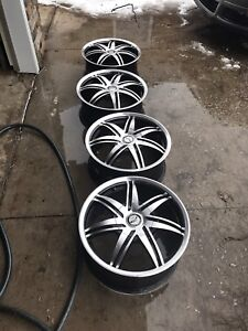 """17"""" rims for winter or summer"""