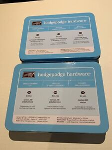 Two Stampin' Up Hodgepodge Hardware sets