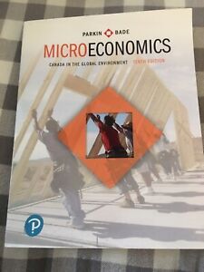 Microeconomics: Canada in the Global Enviroment