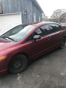 2006 Honda Civic 5 speed