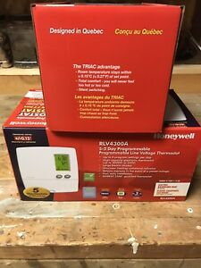 Programable thermostats