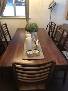 Harvest Dining Set (Table with 6 chairs)