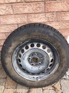 Bridgestone Blizzak winter wheel set of 4