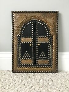 Antique small mirror with doors