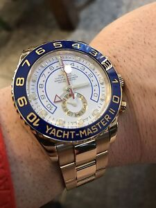 ROLEX YACHTMASTER 2 SOLID YELLOW GOLD CERAMIC BEZEL MINT CONDITION !!! Sydney City Inner Sydney Preview