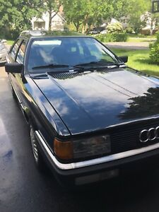 Audi Coupe GT 1987 FWD 2.2 L 5 SPEED
