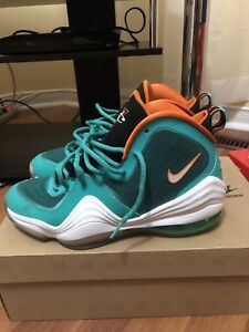 Nike Air Penny 5 Miami Dolphins