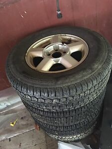 Ford Escape tires rims $160
