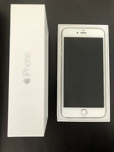 iPhone 6 Plus, 16gb, UNLOCKED, white/silver
