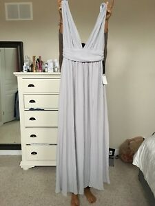 Medium Light Grey Lulus Dress