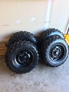 Maxxis atv tires and rims