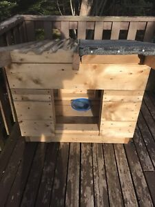 New dog house, solid construction