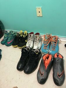 Selling old basketball shoes !!