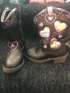 Disney Princess Cowboy Boot - Toddler sz5