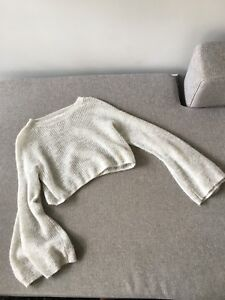 Anthropologie Cropped Sweater