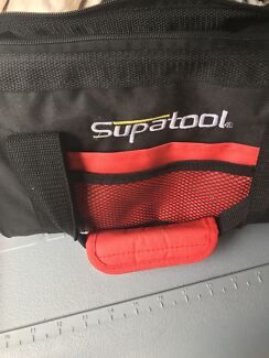 Assorted tools and tool bag