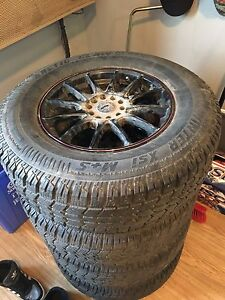 Rims And Studded Winter Tires