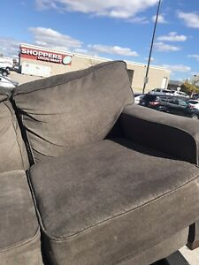 Beautiful Grayish, Brownish Couch For Sale