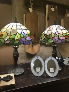 Black Friday sale. 20% off Stained glass lamps