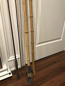 Vintage bamboo rods