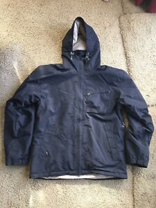 Sessions 10K Ridge Series Snowboard Jacket Large Black Parka