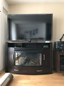 "TV table for a 50""-65"" inch TV (great condition)"