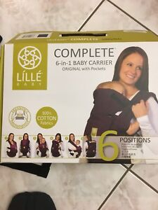 Lille baby carrier 6 in 1   7 to 45lbs