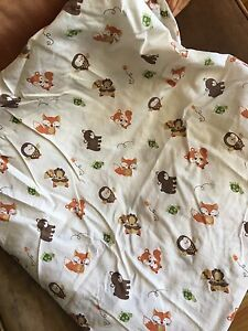 Adorable fitted crib sheet