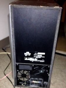 JVC powered subwoofer