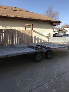 4 place snowmobile trailer/ quad trailer